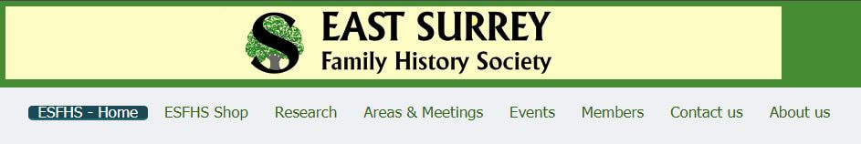 East Surrey Family History Society